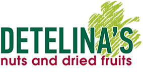 Detelina's nuts and dried fruits