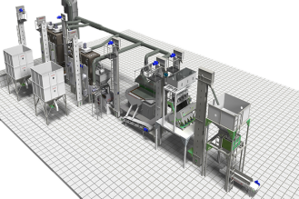 EQUIPMENT FOR PROCESSING SEEDS AND CEREALS